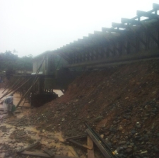 Tramo II puente plataforma