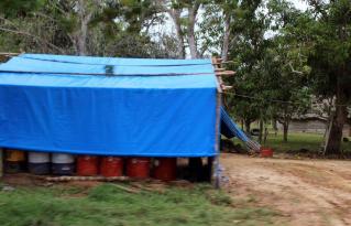 Tramo III Campamento constructora 2