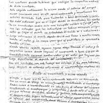 Carta 2 guardapartes sobre asalto sanandita