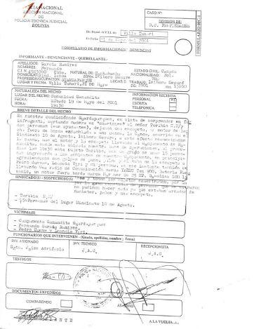 Denuncia de guardaparques a PTJ
