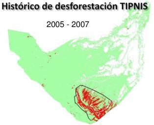Mapa deforestacion pieb 2