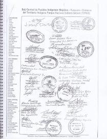 RESOLUCION 2010 DEFENSA DE LA INTEGRIDAD TERRITORIAL DEL TIPNIS 3