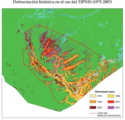 pieb deforestacion tipnis 2012
