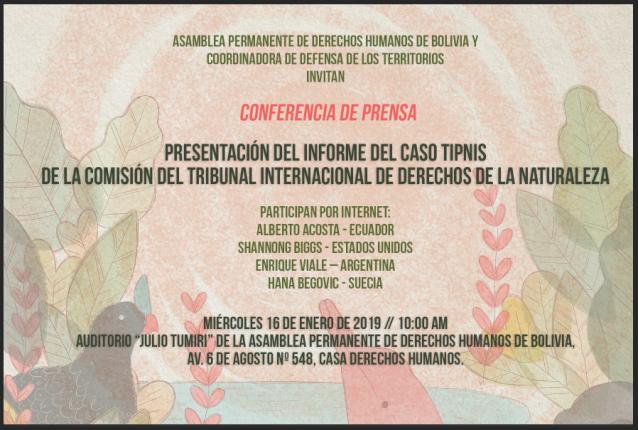invitacion conferencia de prensa