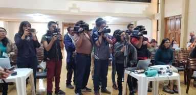Conferencia prensa Cochabamba 1