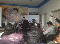 Conferencia prensa La Paz 2