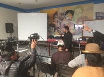 Conferencia prensa La Paz 3