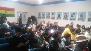 Conferencia prensa La Paz 6
