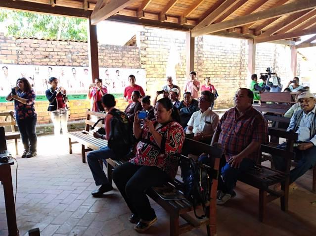 Conferencia prensa Trinidad Beni 1