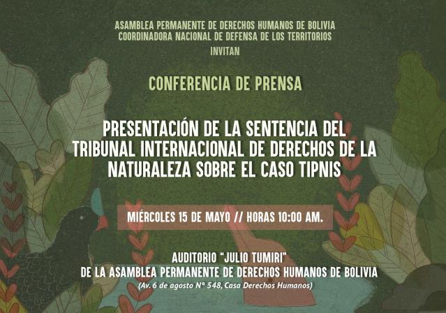 Invitacion sentencia tidn mayo 2019
